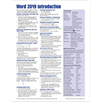 Microsoft Word 2019 Introduction Quick Reference Guide - Windows Version (Cheat Sheet of Instructions, Tips & Shortcuts…