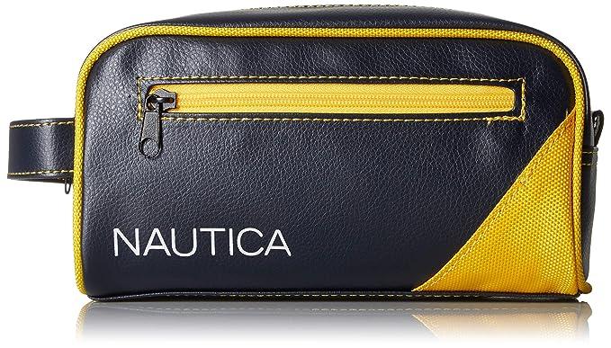 Amazon.com  Nautica Men s Top Zip Travel Kit Toiletry Bag Organizer ... 19f9f834f0983