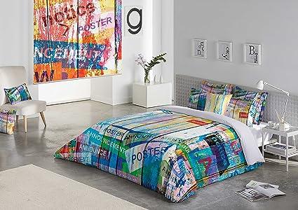 Funda Nordica Zebra.Funda Nordica Street 3223 Cama 135 Cm Zebra Textil Sedalinne