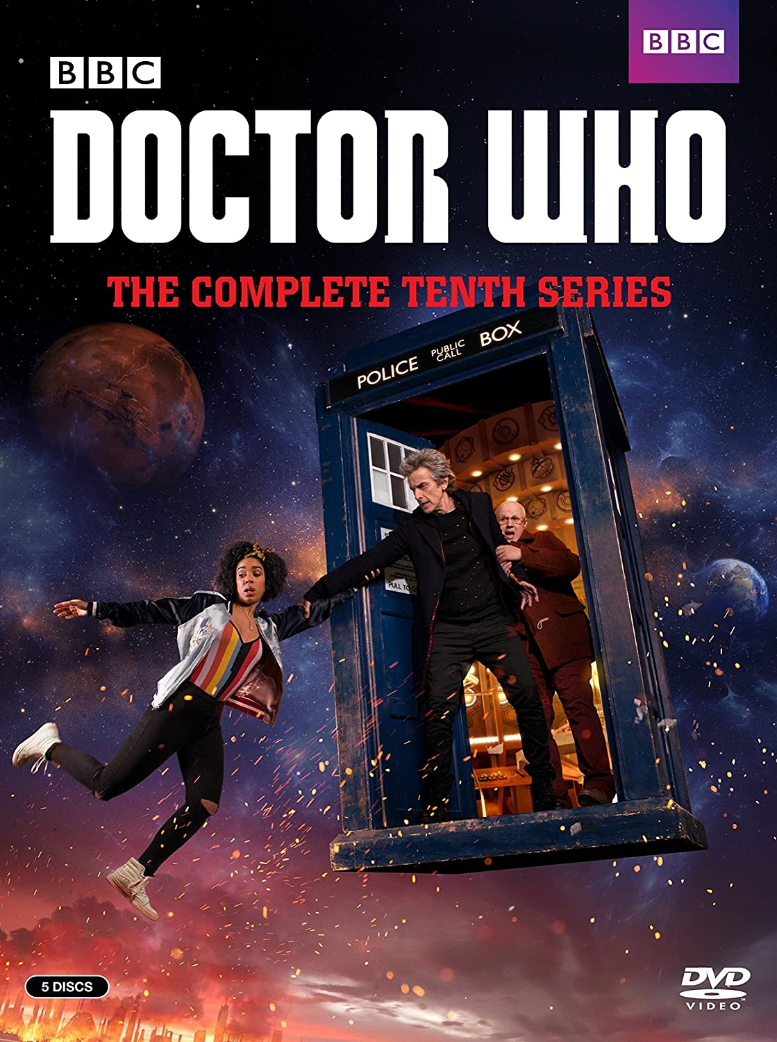 Amazon.com: Doctor Who: The Complete Tenth Series: Peter Capaldi ...