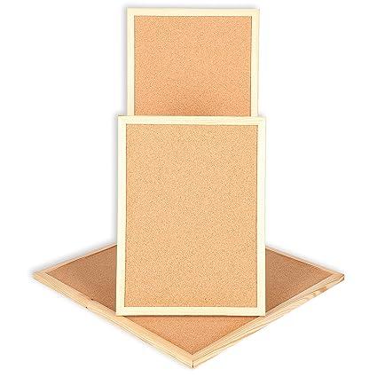 Panel de corcho tablero de tablones de corcho de pizarra con ...