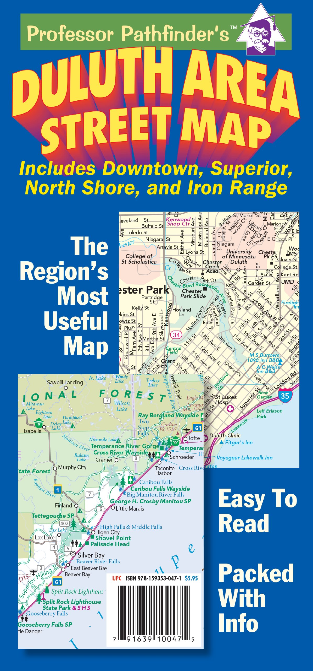 Duluth area street map includes downtown superior north shore duluth area street map includes downtown superior north shore and iron range hedberg maps inc 9781593530471 amazon books fandeluxe Image collections