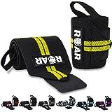 Roar® Muñequeras Deportivas, Muñequeras Crossfit Hombre y Mujer, Muñequeras Gym Hombre, Wrist Wraps, Muñequera Crossfit…