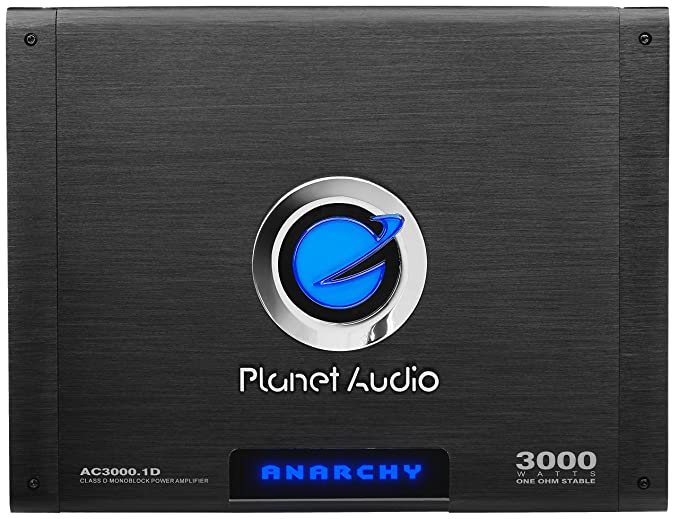2. Planet Audio AC3000.1D Anarchy