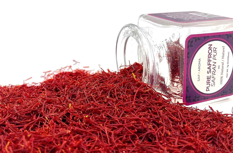 Safaroma Saffron Grade A Threads - Organic & Premium Quality