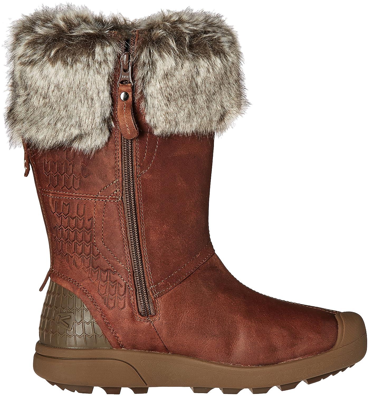 KEEN Women's Fremont Zip Waterproof Shoe B019FCZFMQ 8.5 B(M) US|Whiskey