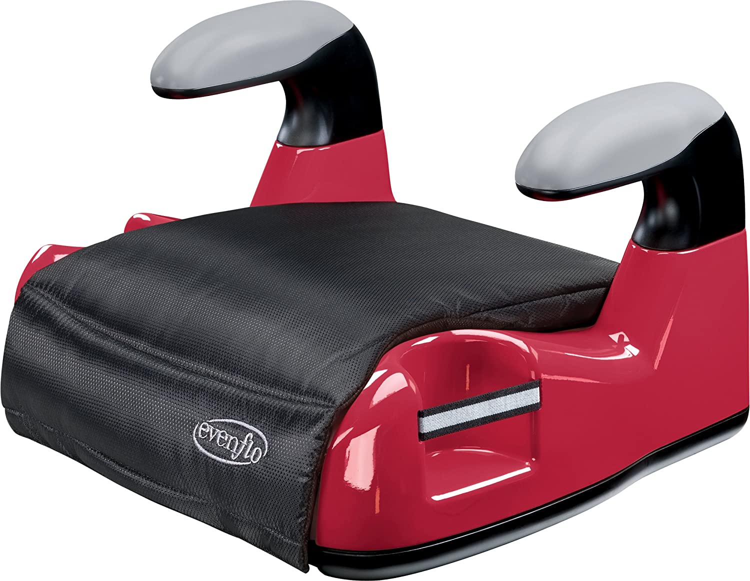 Amazon.com : Evenflo Big Kid AMP No Back Booster Car Seat, Red ...