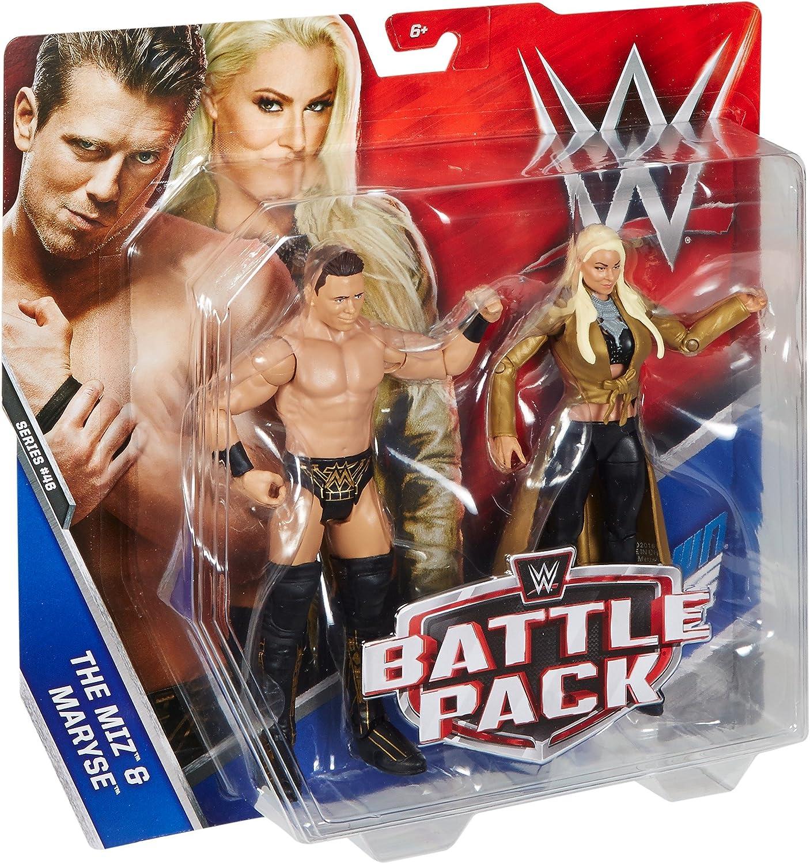 WWE Battle Pack Dean Las Figuras de Acción de Miz & Maryse: Amazon.es: Juguetes y juegos