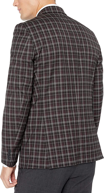 Kenneth Cole REACTION Mens Slim Fit Mens Blazer Blazer
