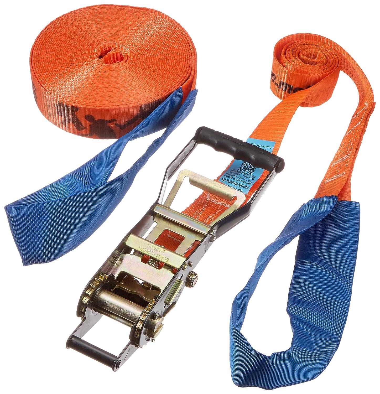 slack-liners - Cuerda clásica para slackline (50 mm de ancho, 15 m de largo, palanca con tensor) Cargo Drechsler Ltd. SLACKLINE-CLASSIC-15