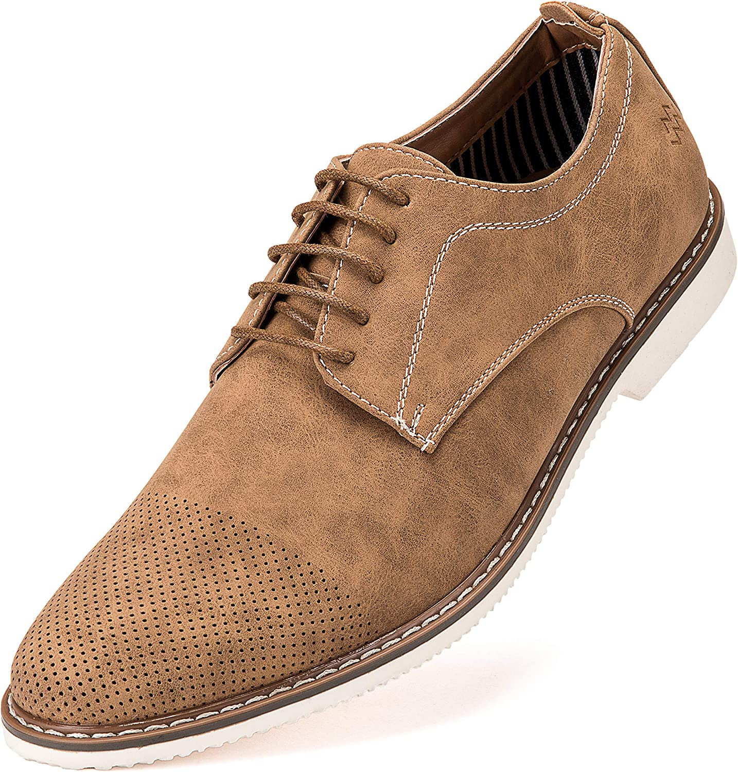 2019 Suede European style leather Shoes Men/'s oxfords Casual Multi Size Fashion