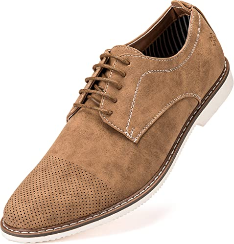 Mens Casual Shoes, Suede Oxford
