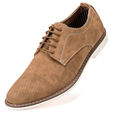 Marino Avenue Mens Casual Shoes - Suede Business Dress Shoes for Men