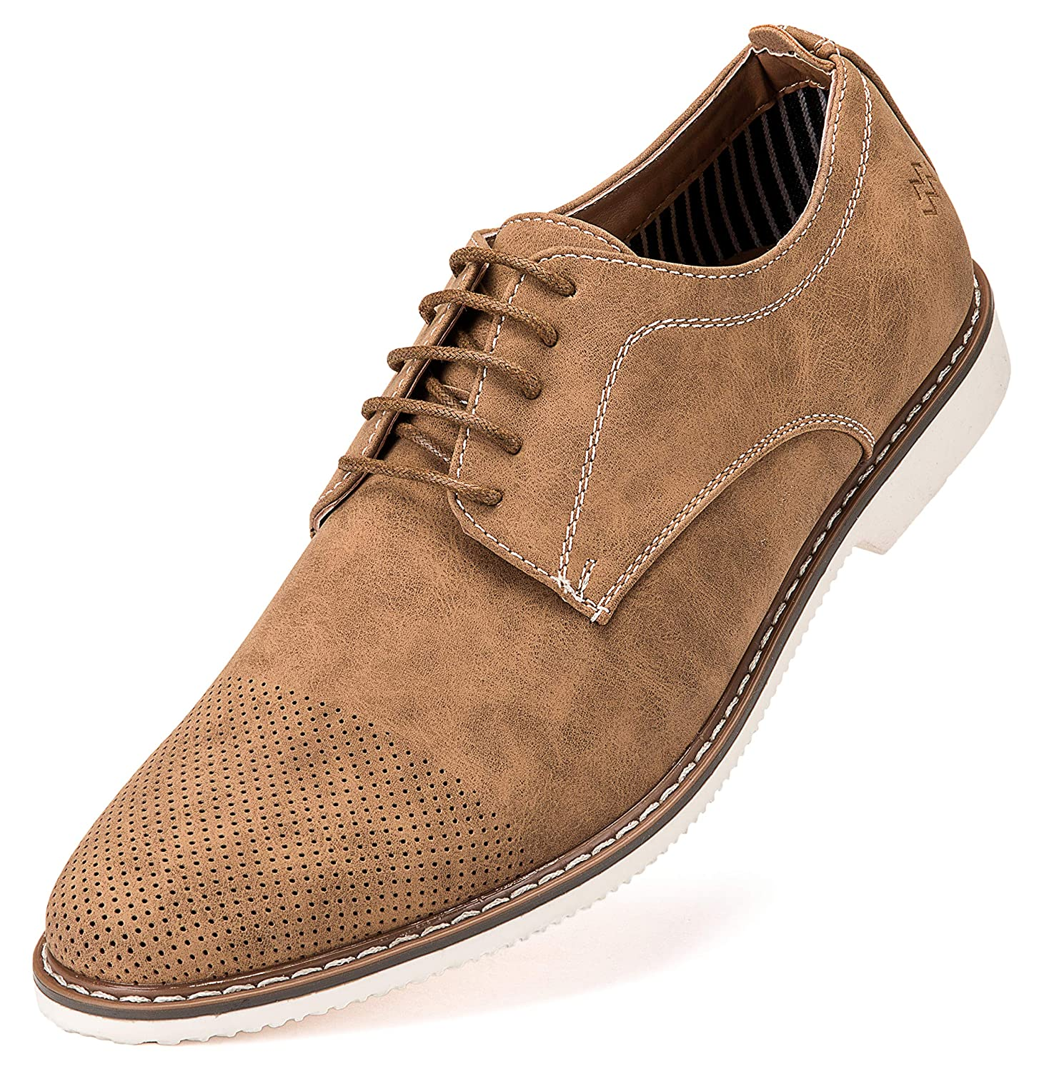 05331c79a92f Marino Avenue Mens Casual Shoes - Suede Business Dress Shoes for Men