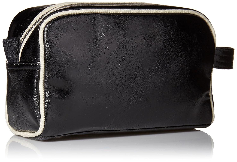 Fred Perry Hommes sac de lavage de voyage classique Noir /& Ecru