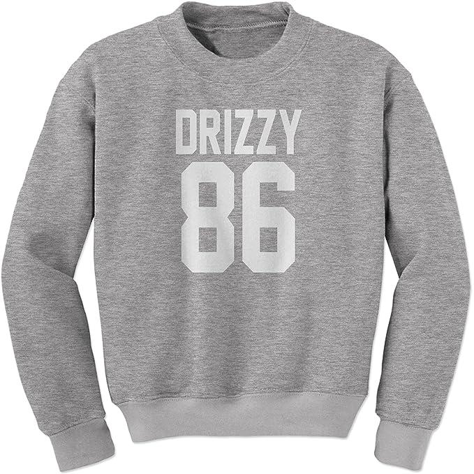 Expresión Tees Drizzy 86 Equipo Canadá Toronto Rap Sudadera Cuello Redondo - Gris -: Amazon.es: Ropa y accesorios