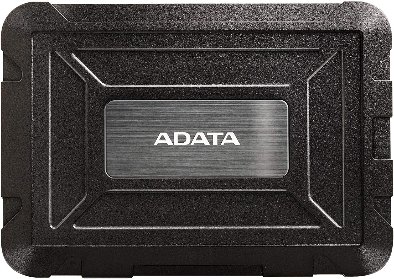 ADATA ED600 USB3.1 Tool-Free Easy Swap IP54 Waterproof Shockproof Dustproof 2.5inch SSD and Hard Drive Enclosure (AED600-U31-CBK)