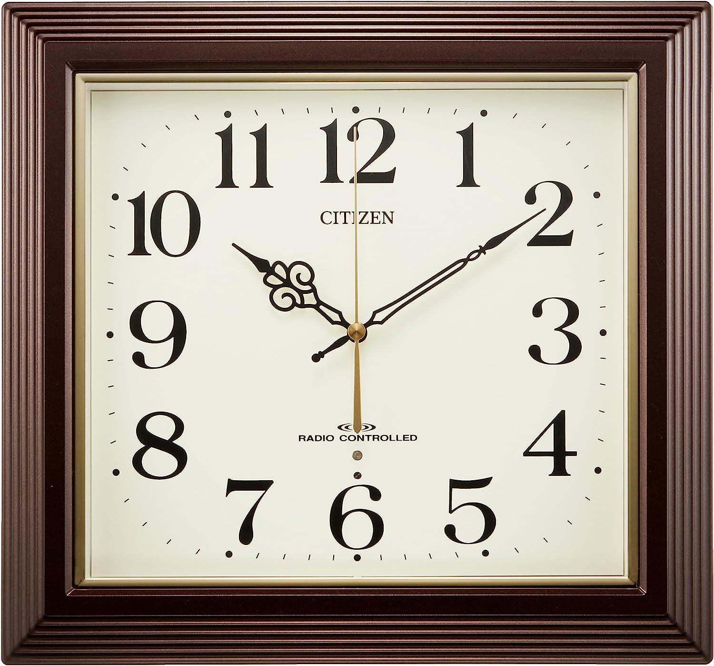 CITIZEN Wall clock Yasaka radio clock 12MY12 12 Home Decor ...