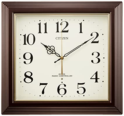 CITIZEN (Citizen)  wall clock Yasaka radio clock 4MY803-006