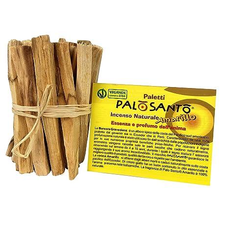 Palo Santo Incenso.Palo Santo Natural Incense Bursera Graveolens 20 Sticks