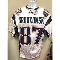 $209 » Rob Gronkowski New England Signed Autograph Custom White Jersey JSA Certified