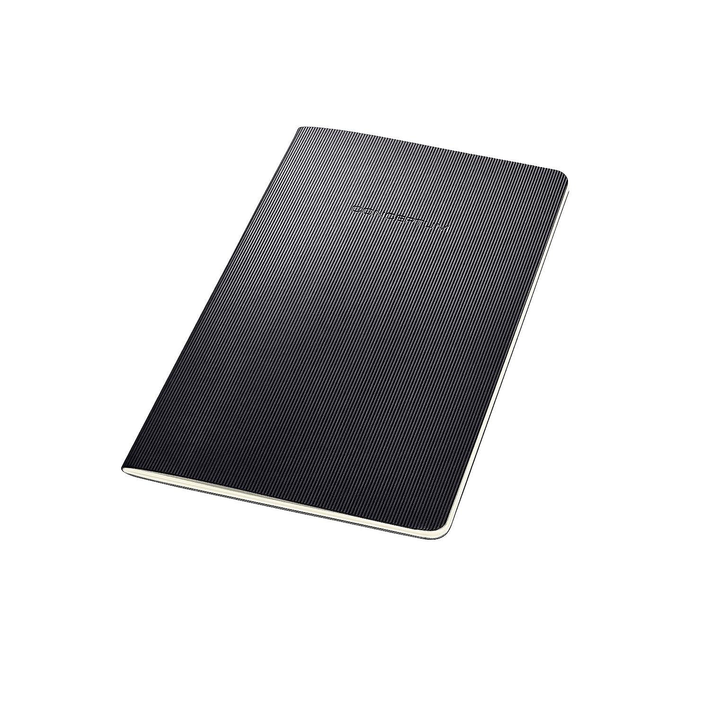 copertina flessibile nero 64 pagine a quadretti SIGEL CO860 Taccuino-quaderno Conceptum circa A4