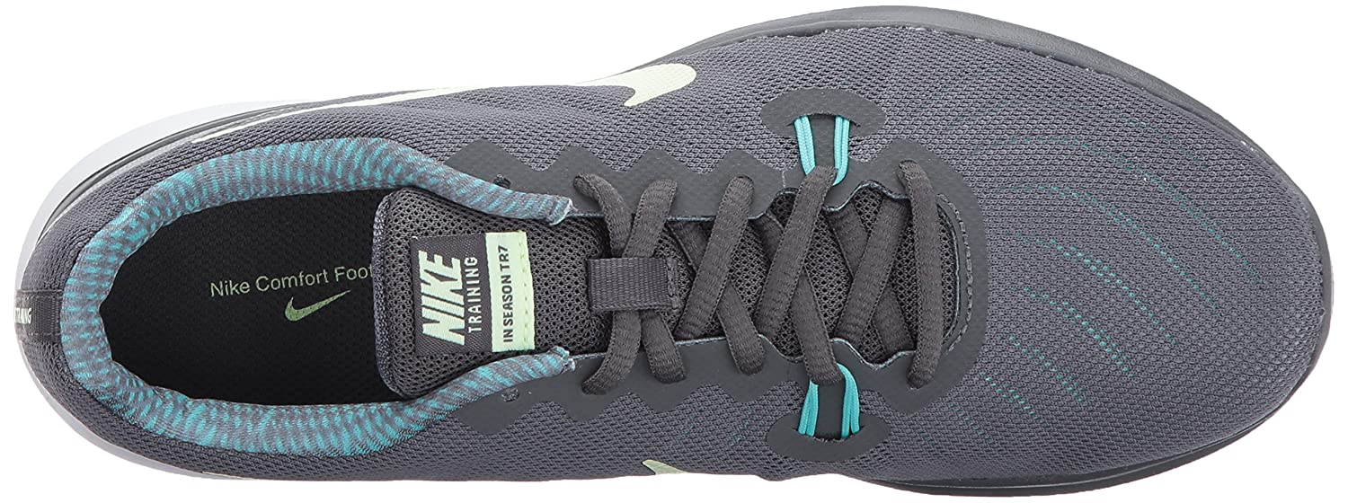 NIKE Women's in-Season 7 Cross Trainer B01NCVNDZ8 6.5 B(M) US|Dark Green Grey/Barely Volt - Aurora Green US|Dark dc3a43
