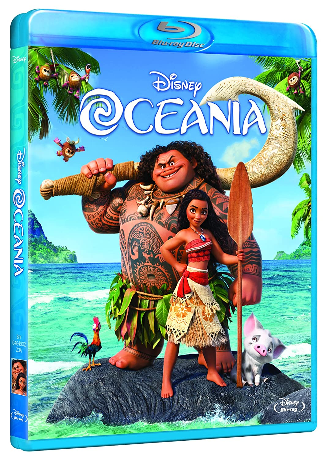 Oceania (Blu-ray) [Blu-ray]: Amazon.es: Ron Clements, Don ...