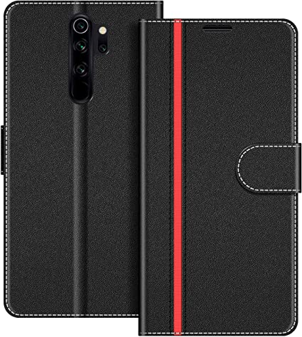 COODIO Funda Xiaomi Redmi Note 8 Pro con Tapa, Funda Movil Xiaomi ...