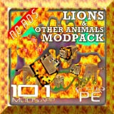 popcorn add on - mods: animals pack 10 in 1 for pe