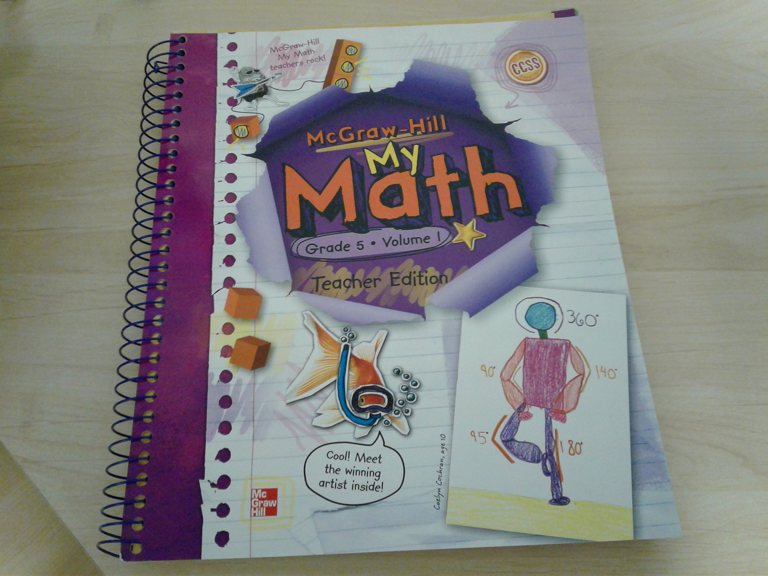 My Math, Vol. 1, Grade 5, Teacher Edition: carter: 9780021162079 ...