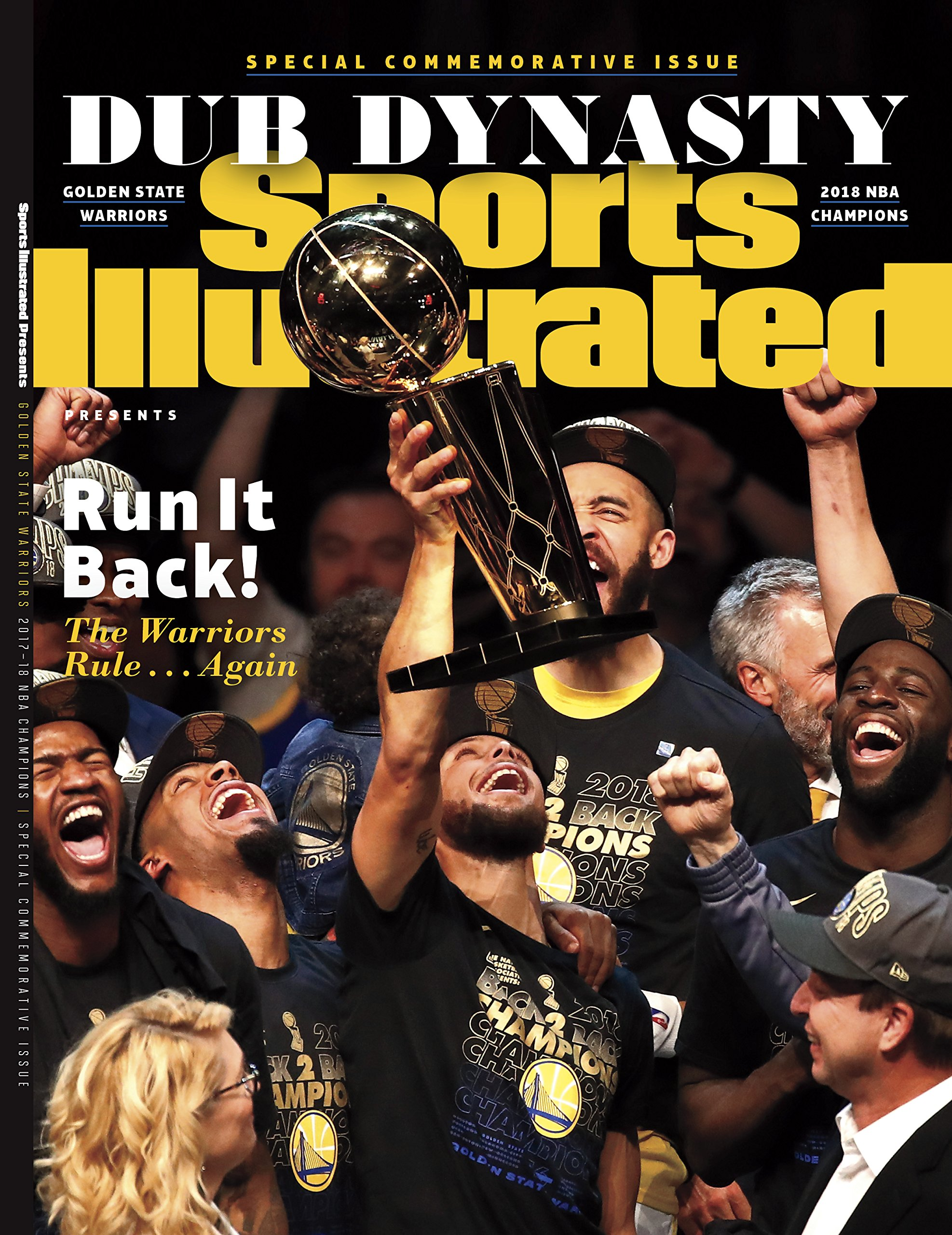 0b89854f6d5 Sports Illustrated Golden State Warriors 2018 NBA Finals Champions  Commemorative Issue Staple Bound – 2018
