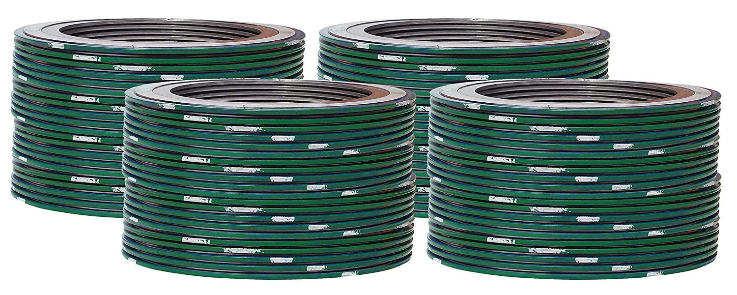 of NJ Green Band with White Stripe Sterling Seal 9000IR10316PTFE900X24 316L Stainless Steel Spiral Wound Gasket with 316SS Inner Ring and PTFE Filler for 10 Pipe Supplied by Sur-Seal Inc Pack of 24 Pressure Class 900#