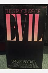 The Structure of Evil Paperback