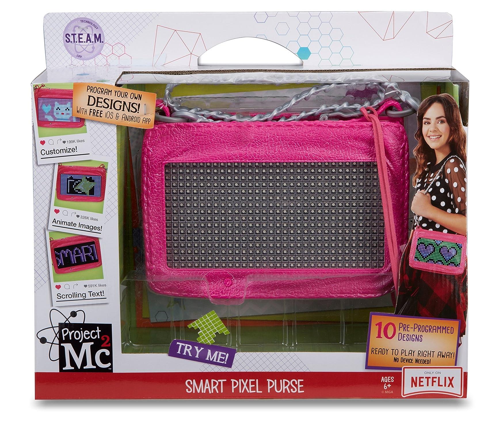 Projekt Mc2 pixel Purse leksak FRI sändning