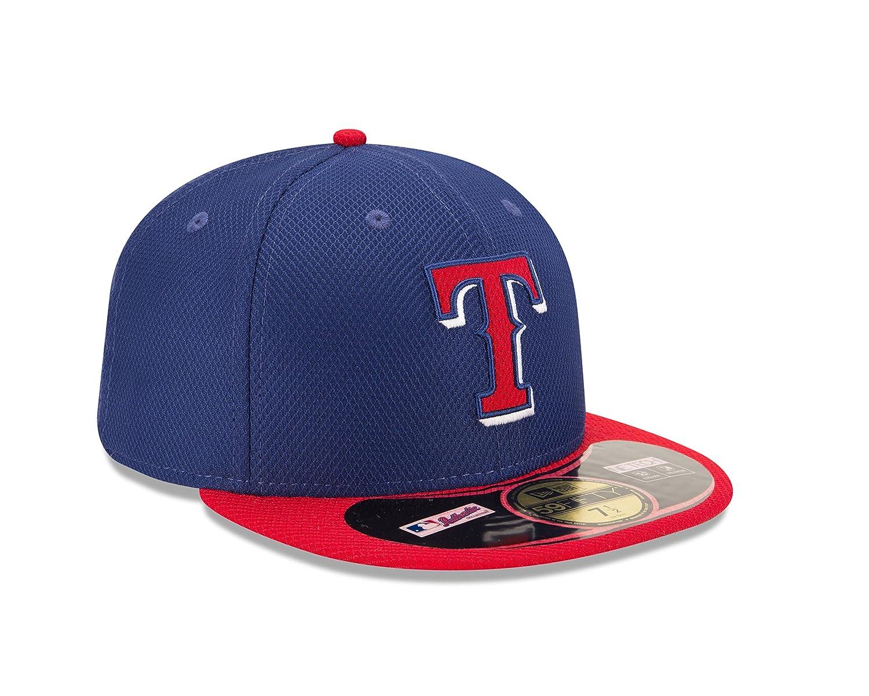 discount sale 67d59 f6923 Amazon.com   MLB Texas Rangers Diamond Era 59Fifty Baseball Cap   Clothing