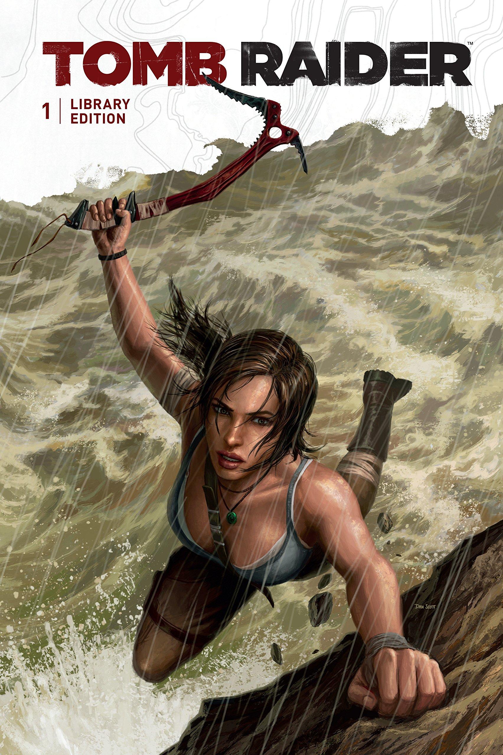 Tomb Raider Library Edition Volume 1: Gail Simone: 9781616559601: Books -  Amazon.ca