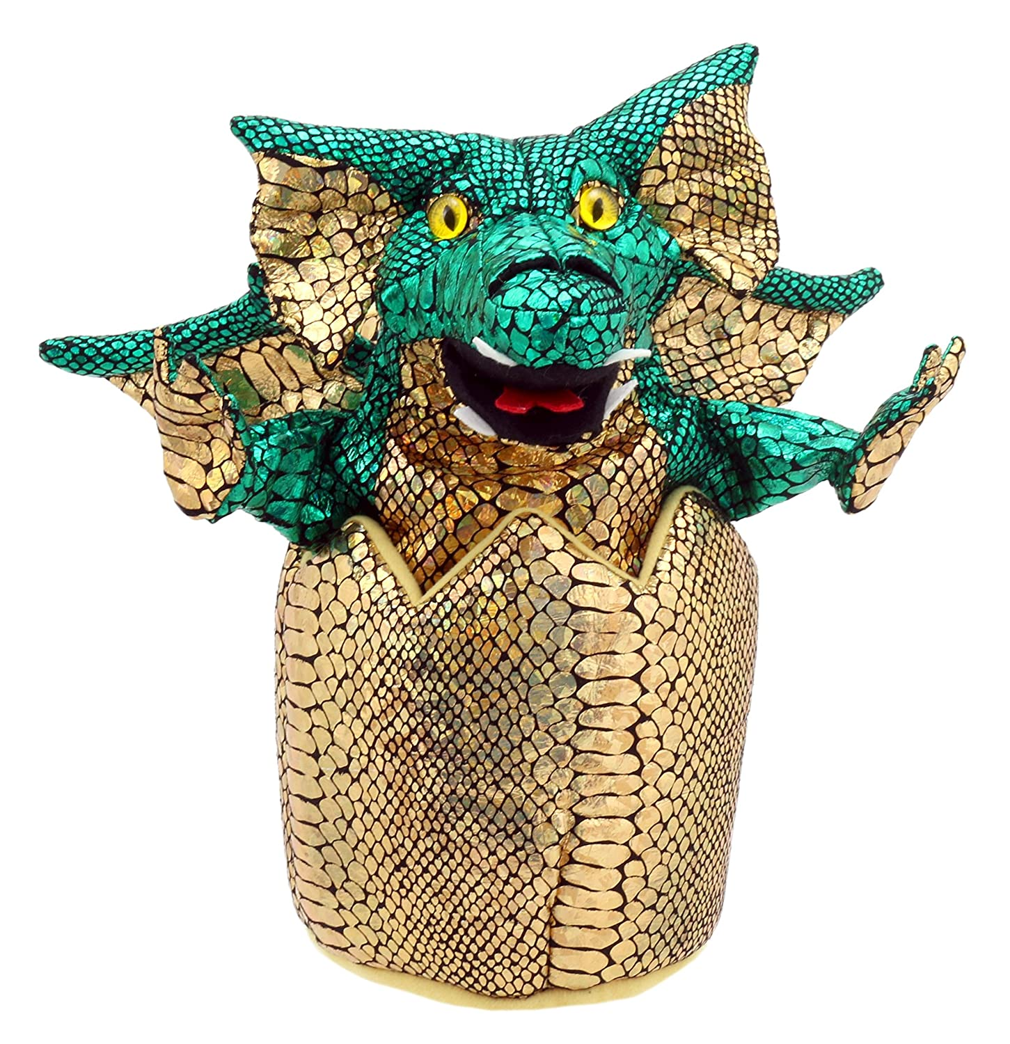 The Puppet Company Green Hatching Dragon Hand Puppet PC004302