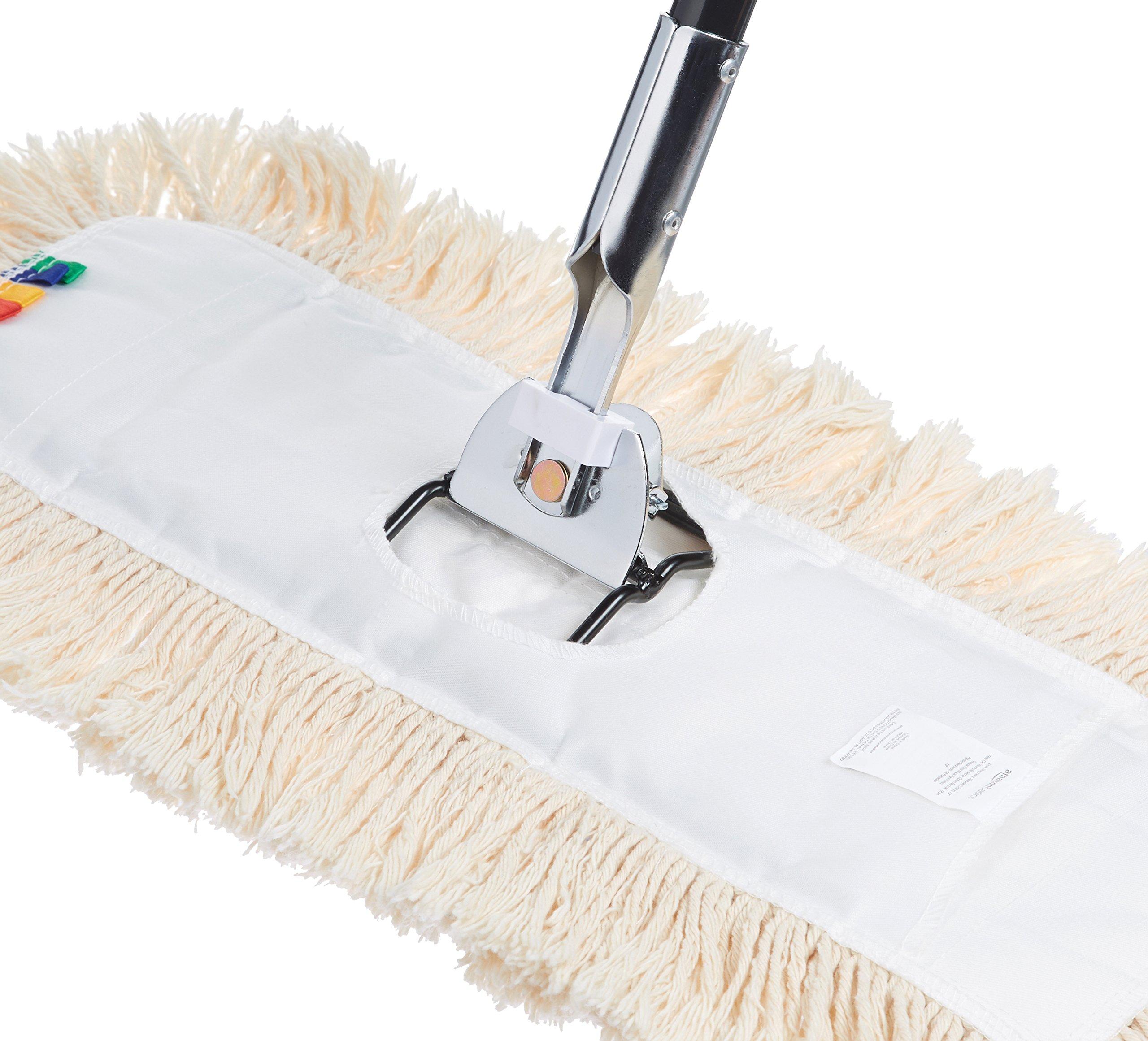 AmazonBasics 60-Inch Steel Dust Mop Handle - 6-Pack by AmazonBasics (Image #4)