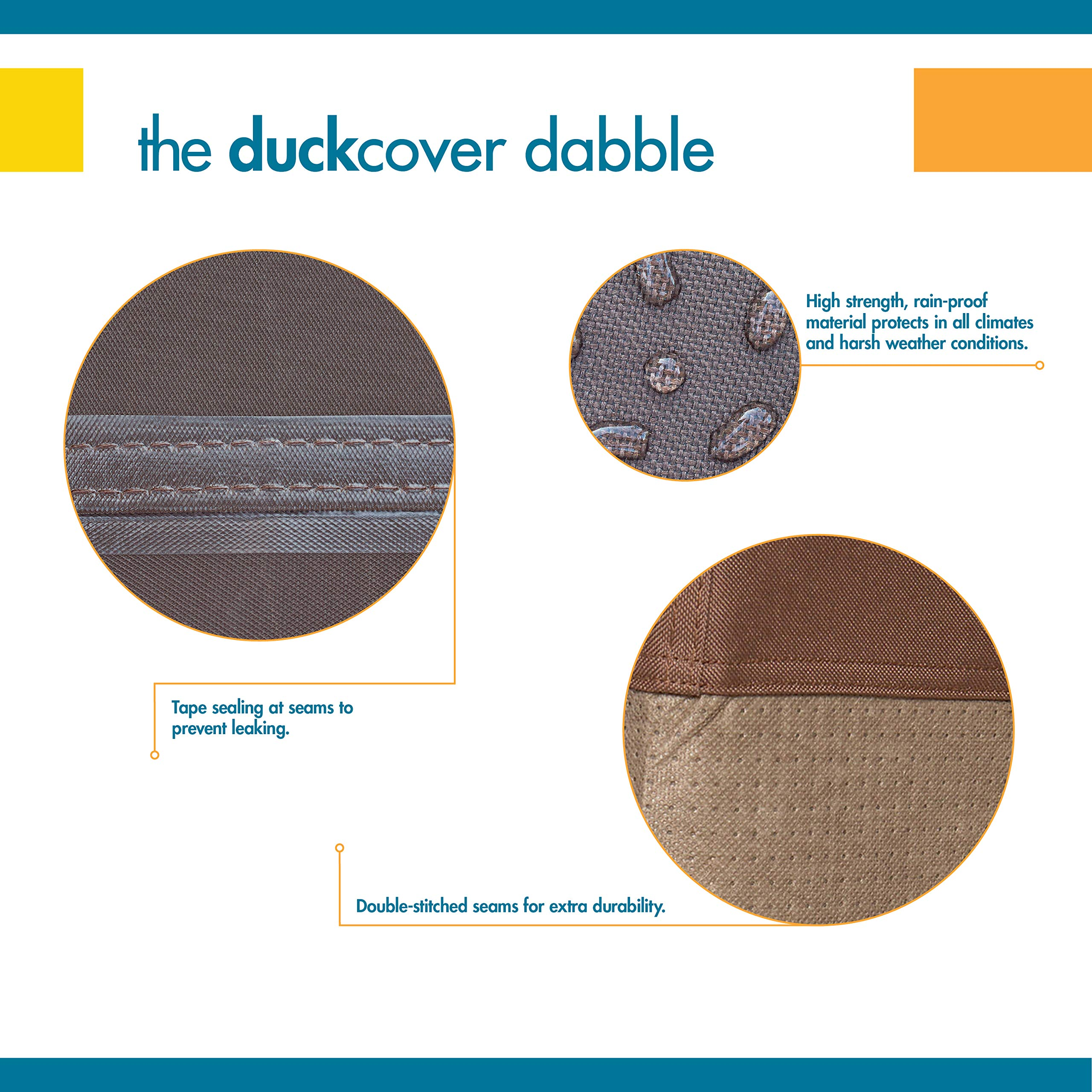 Duck Covers Ultimate Offset Patio Umbrella Cover with Installation Pole by Duck Covers (Image #5)