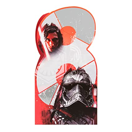 Hallmark Star Wars 8th Tarjeta de cumpleaños