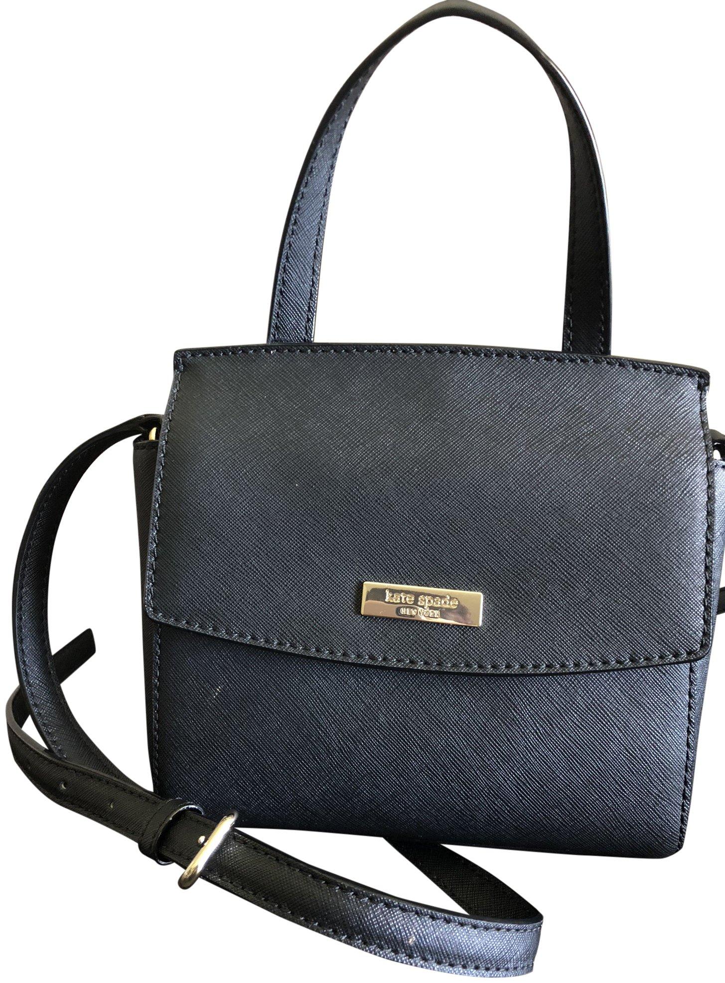 Kate Spade Mini Alisanne Laurel Way Top Handle Crossbody Black