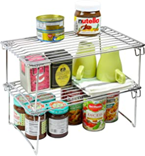 Amazon.com - DecoBros Expandable Stackable Kitchen Cabinet and ...