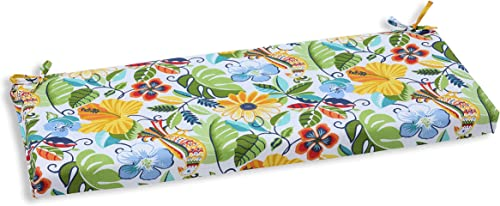 Pillow Perfect Outdoor/Indoor Lensing Garden Bench Cushion