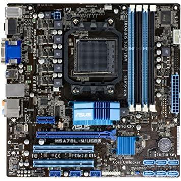 ASUS M5 A78L-M/USB3 escritorio # M5 A78L-M/USB3 - Placa base AMD 760 G Chipset - Socket AM3 +: Amazon.es: Electrónica