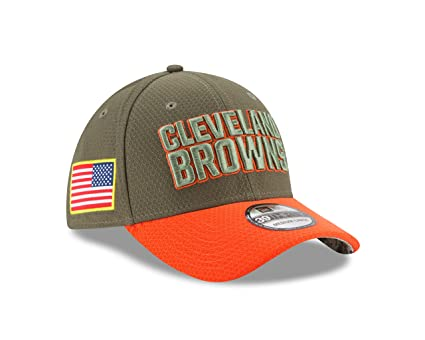 a6188fc912b3a ... 9fifty adjustable 377f9 5cafa  spain cleveland browns new era 2017  salute to service 39thirty flex hat olive s 12b31 14a0d