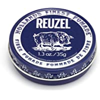 Reuzel - Fiber Pomade - Firm - Pliable Hold - Low Shine - Water Soluble - Works on All Hair Types - Gives a Natural…