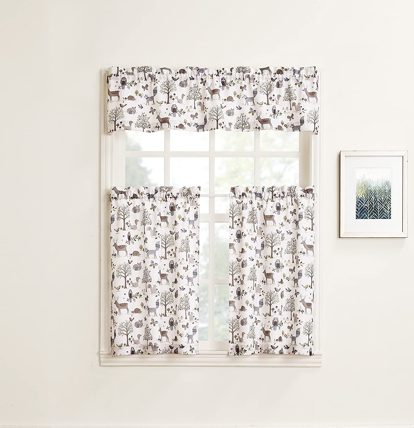 Forest Friends Valance & Tiers
