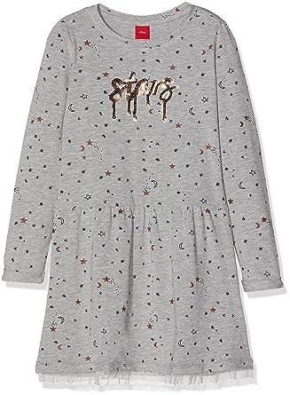 d26052f3fb3 s.Oliver Robe Fille  s.Oliver RED LABEL Junior  Amazon.fr  Vêtements ...