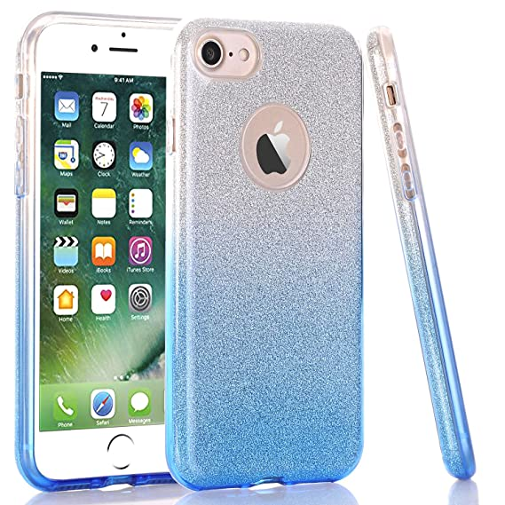 iphone 7 case clear blue